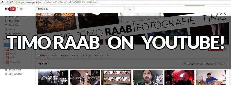 Timo Raab on YouTube: … oder wie Fotos das Laufen lernen