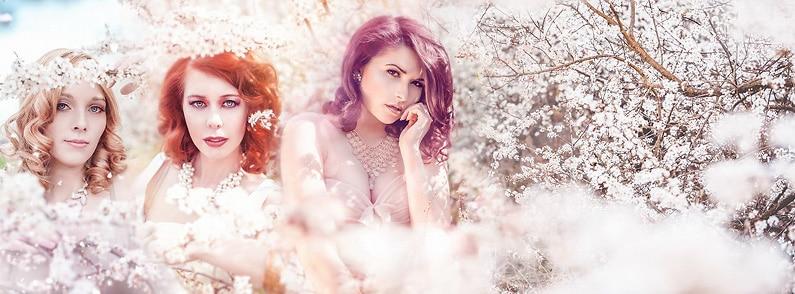 Springtime Beauties // Blumige Portraits