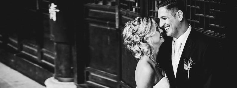 HOCHZEIT: AFTER WEDDING SHOOTING IN FRANKFURT IM CHINESISCHEN GARTEN, TIM & RAMONA